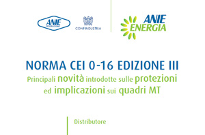 Nuova Norma CEI 0-16 Edizione III – Luglio 2013